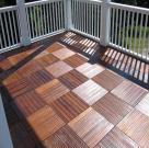 Фото террас из тропической древесины 5